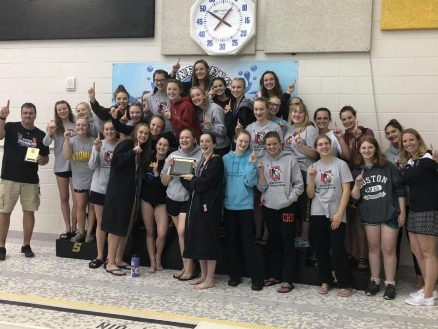 Women's Swim and Dive Teams Capture Regional Title